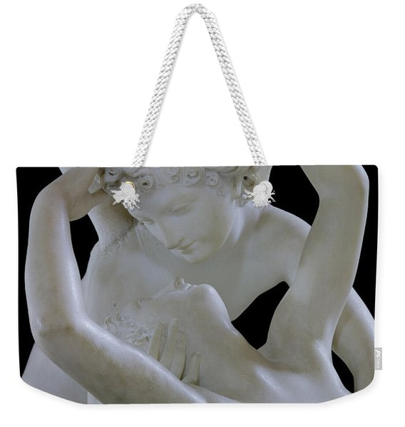 Psyche Revived By The Kiss Of Cupid Weekender Tote Bag