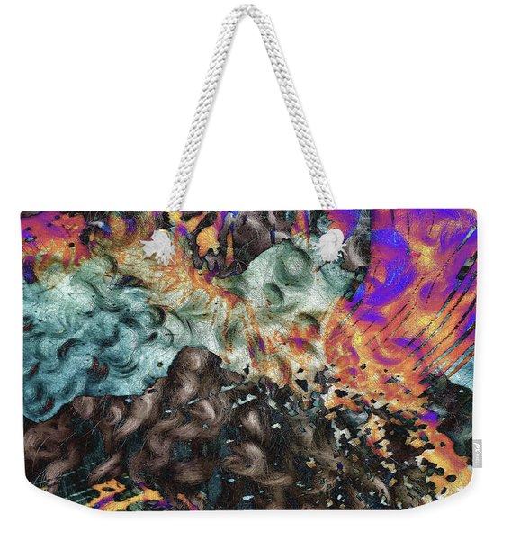 Psychedelic Fur Weekender Tote Bag