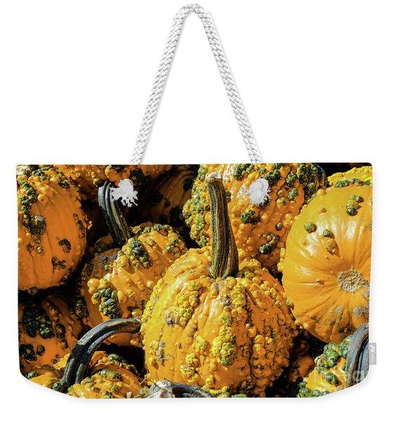Pumpkins With Warts Weekender Tote Bag