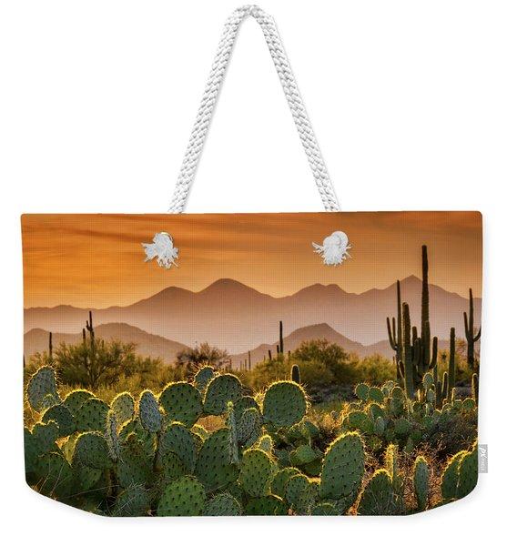 Pure Sonoran Gold  Weekender Tote Bag