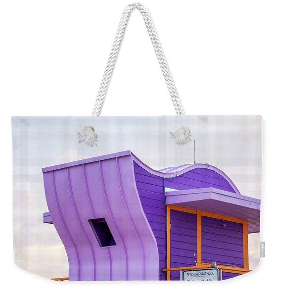Purple Dawn Weekender Tote Bag