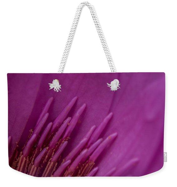 Purple Haze Weekender Tote Bag