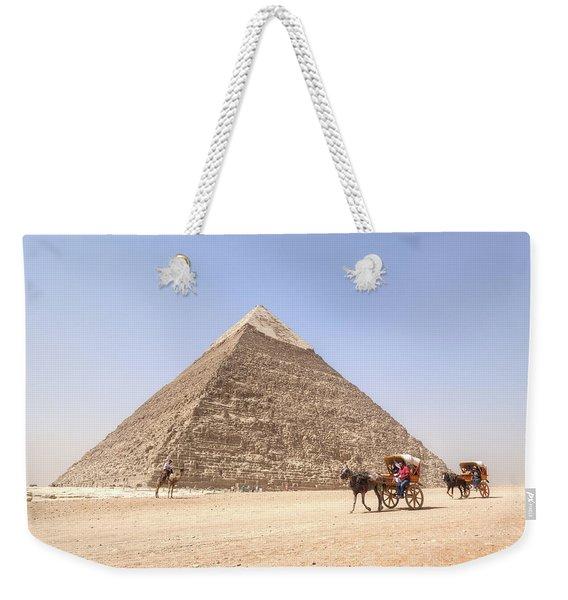 Pyramid Of Khafre - Egypt Weekender Tote Bag