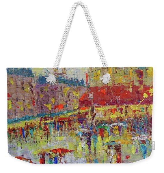 Quartier Latin Paris Weekender Tote Bag
