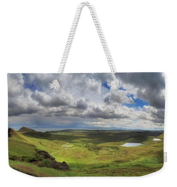 Quiraing And Trotternish - Panorama Weekender Tote Bag