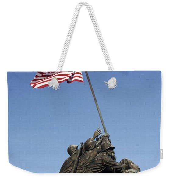 Raising The Flag On Iwo - 799 Weekender Tote Bag
