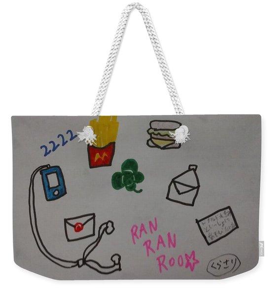 Ranranroo Weekender Tote Bag