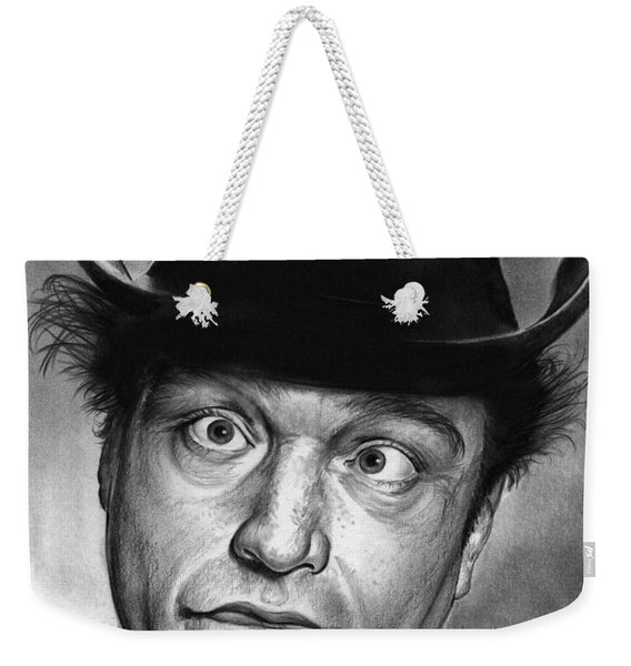 Red Skelton Weekender Tote Bag