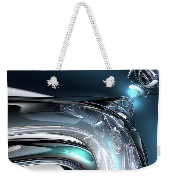 Reflections Of Blue Weekender Tote Bag
