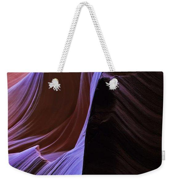 Ribbons Of Light Weekender Tote Bag