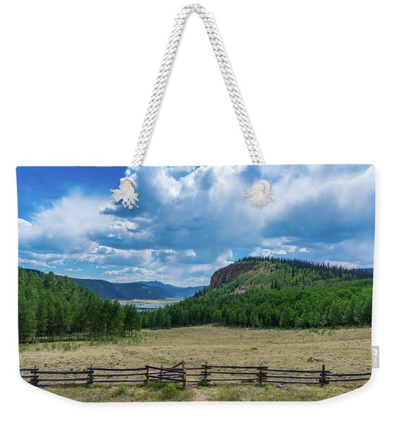 Rio Grande Headwaters #3 Weekender Tote Bag
