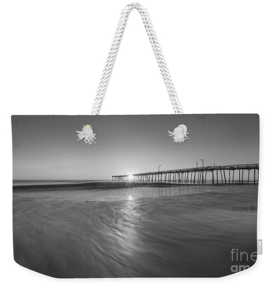 Rise And Shine At Nags Head Pier Weekender Tote Bag