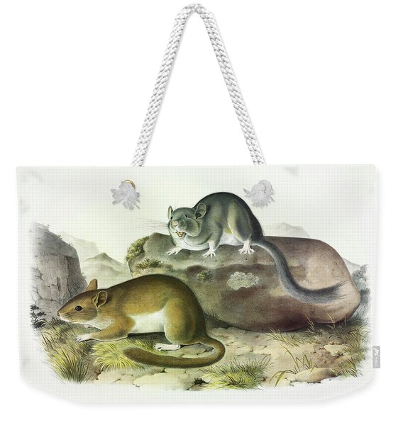 Rocky Mountain Neotoma Weekender Tote Bag