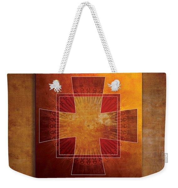 Roman Cross #3 Weekender Tote Bag