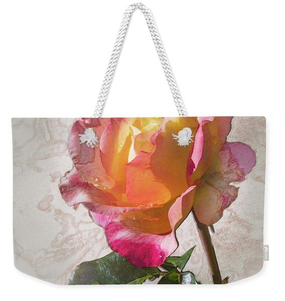 Rosa, 'glowing Peace' Weekender Tote Bag