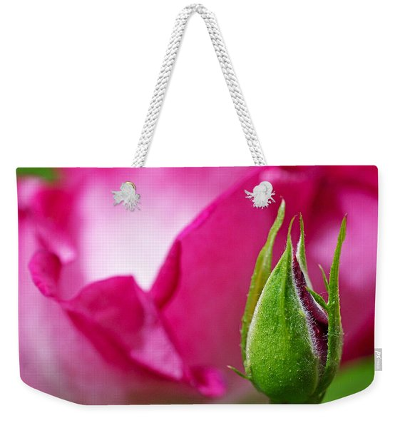Budding Rose Weekender Tote Bag