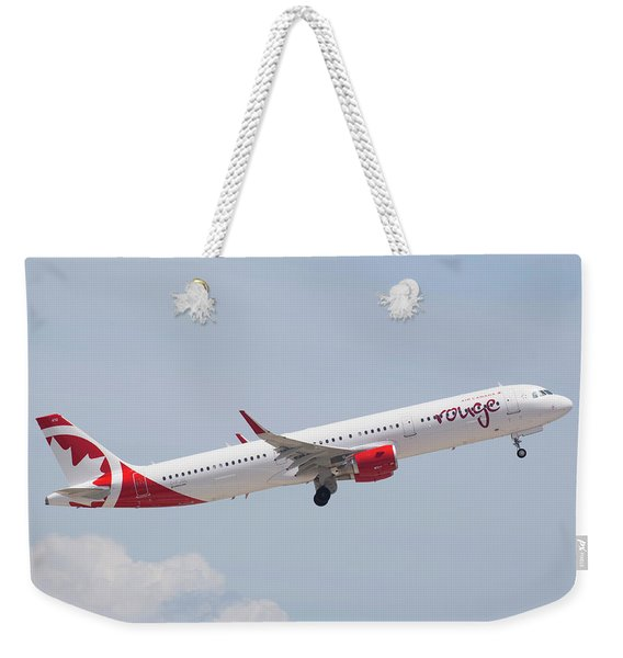 Rouge Air Canada Weekender Tote Bag