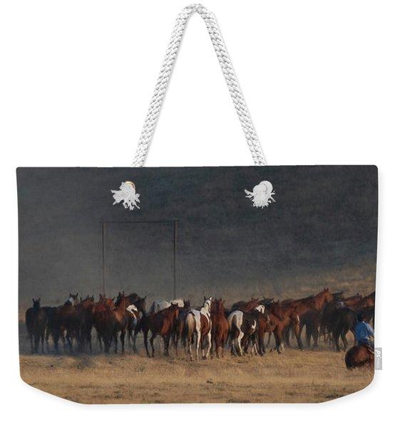 Round Up Weekender Tote Bag