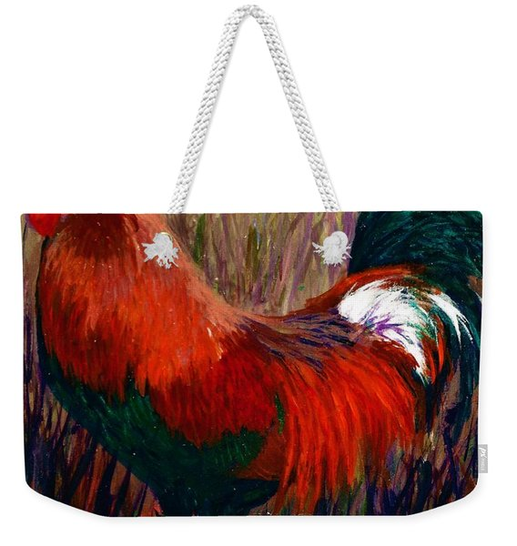 Rudy The Rooster Weekender Tote Bag