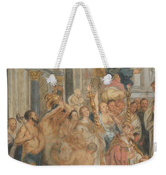 Saint Paul At Lystra Weekender Tote Bag