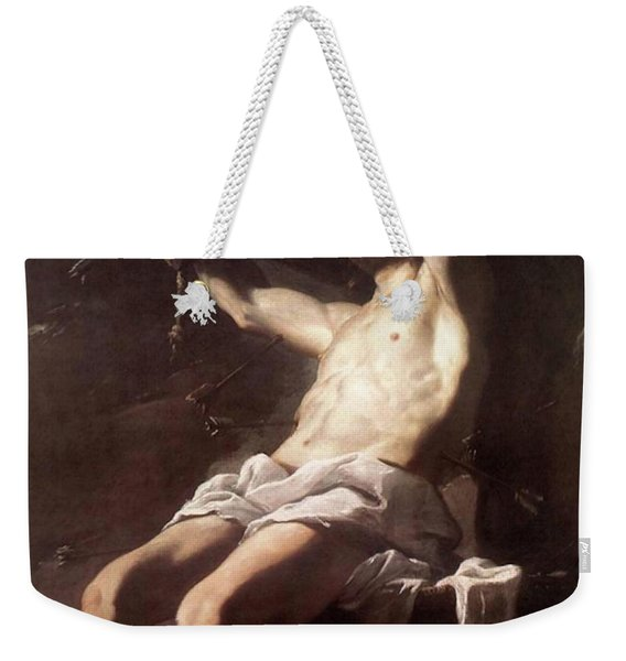 Saint Sebastian By Mattia Preti Weekender Tote Bag