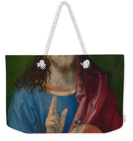 Salvator Mundi Weekender Tote Bag
