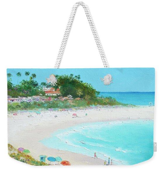 San Clemente Beach California Weekender Tote Bag