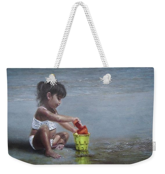 Sand Castles II Weekender Tote Bag