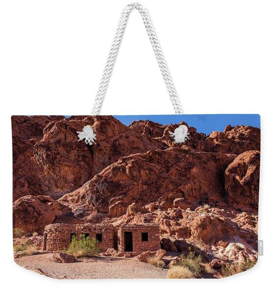 Sandstone Cabins Weekender Tote Bag