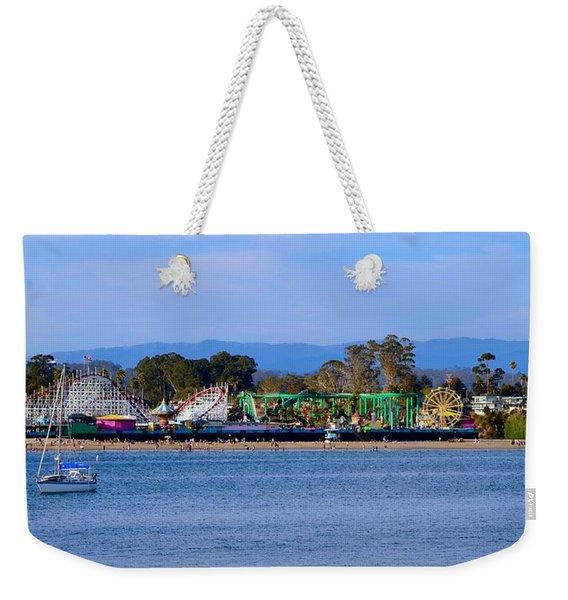 Santa Cruz Boardwalk Weekender Tote Bag