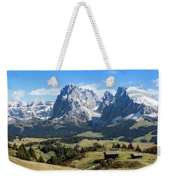Sasso Lungo And Sasso Piatto Weekender Tote Bag