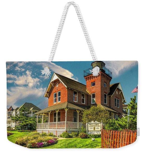 Sea Girt Lighthouse Weekender Tote Bag