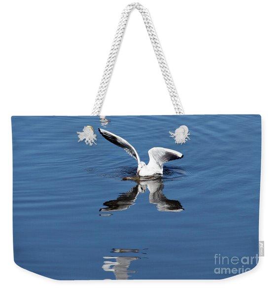 Seagull Fishing Weekender Tote Bag