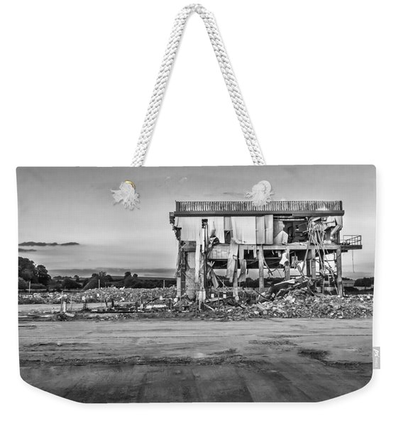 Weekender Tote Bag featuring the photograph Seen Better Days by Nick Bywater