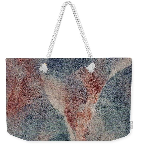 Weekender Tote Bag featuring the mixed media Ser.1 #10 by Writermore Arts