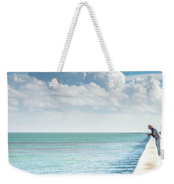 Seven Mile Fishing Weekender Tote Bag