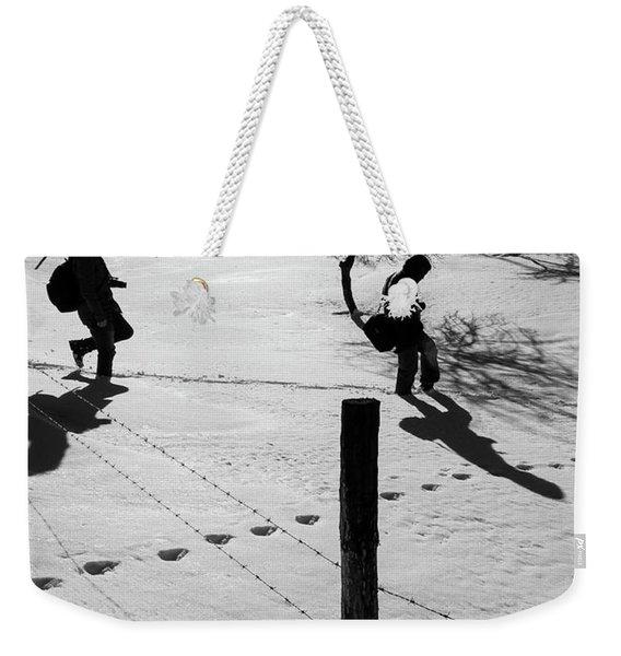 Shadows Weekender Tote Bag