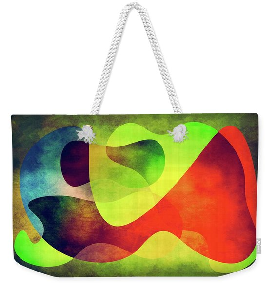 Shapes 3 Weekender Tote Bag