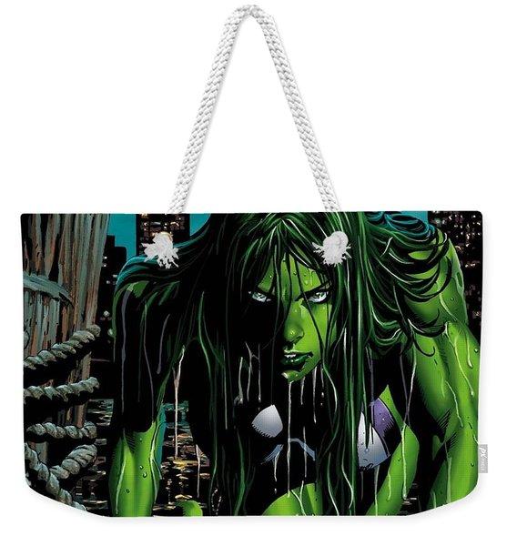 She-hulk Weekender Tote Bag