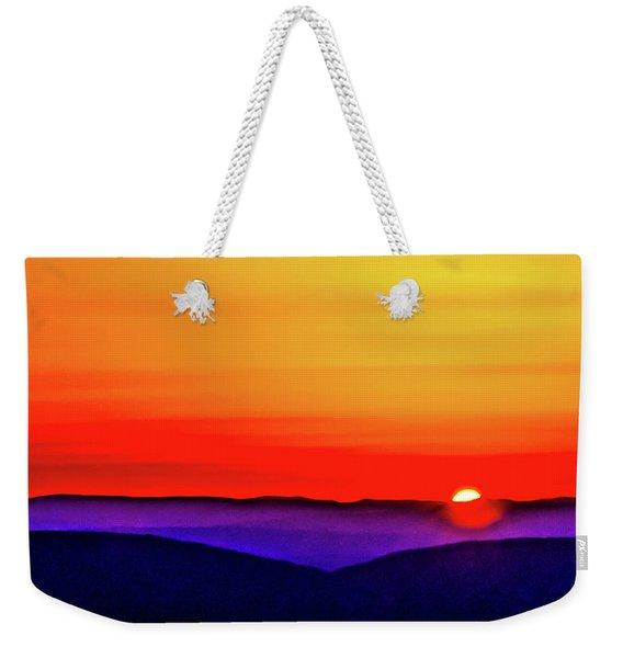 Shenandoah Valley Sunset Weekender Tote Bag