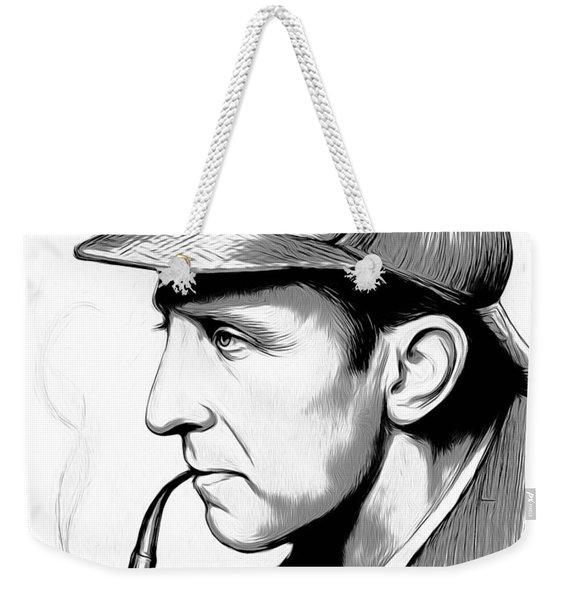 Sherlock Holmes Weekender Tote Bag
