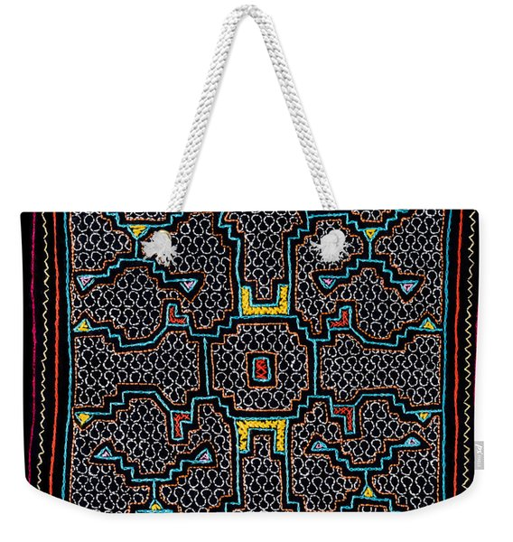 Shipibo Art Weekender Tote Bag