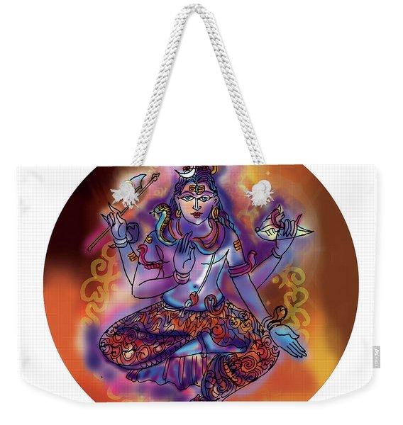 Shiva Dhyan Weekender Tote Bag