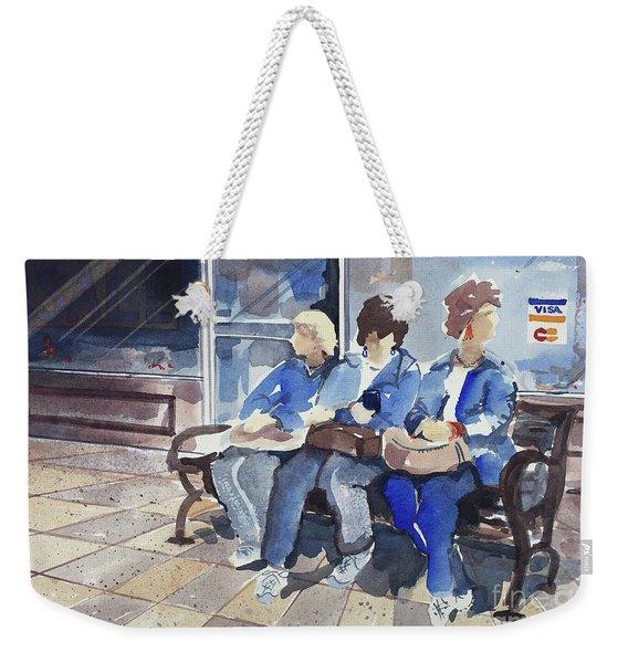 Shopping Weekender Tote Bag