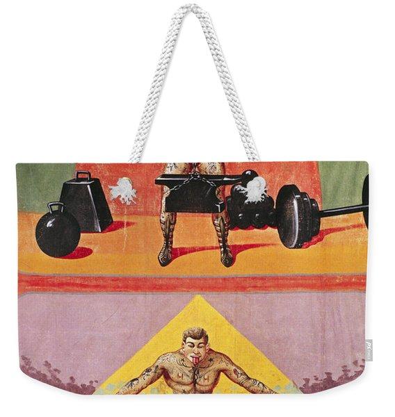 Sideshow Poster, C1945 Weekender Tote Bag