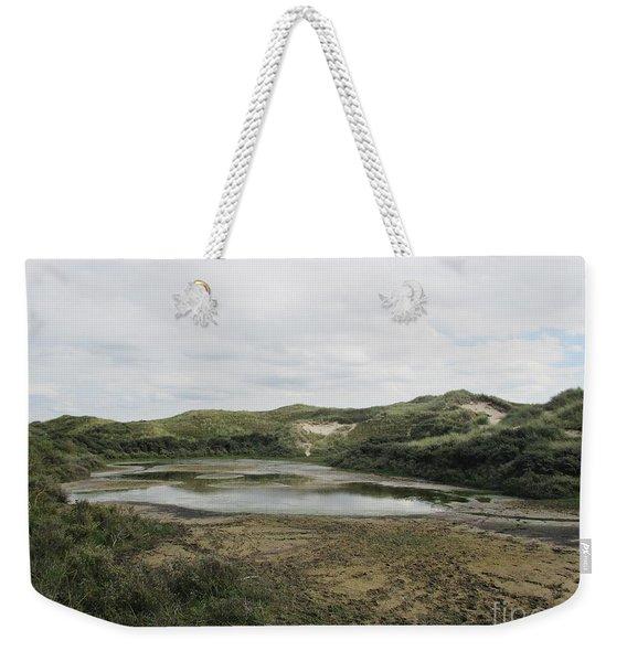 Small Lake In The Noordhollandse Duinreservaat Weekender Tote Bag