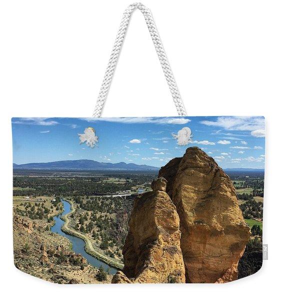 Smith Rocks Weekender Tote Bag