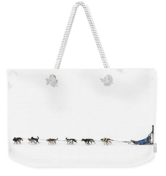 Snowbound Weekender Tote Bag