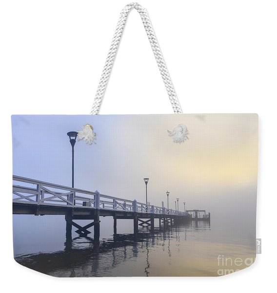 Softly As I Leave You Weekender Tote Bag