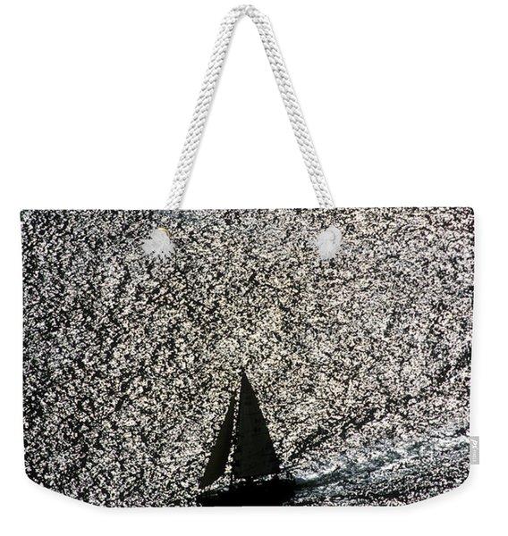 Sailing Into Solitude Weekender Tote Bag